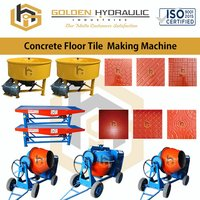 Concrete Floor Tile Making Machine