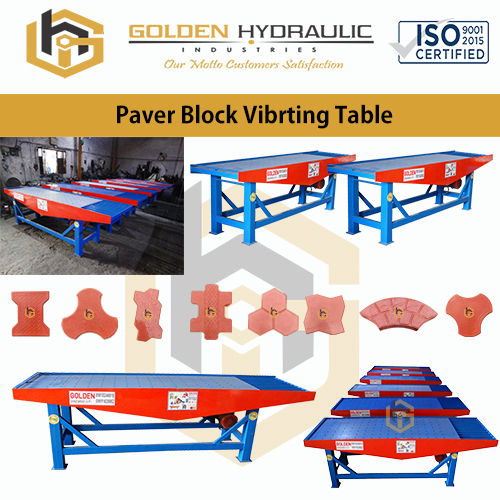 Paver Block Vibrating Table