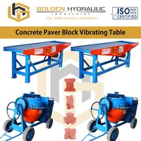 Concrete Paver Block Vibrating Table