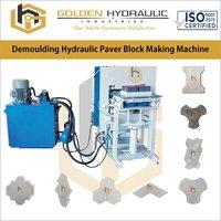 Demoulding Hydraulic Paver Block Making Machine