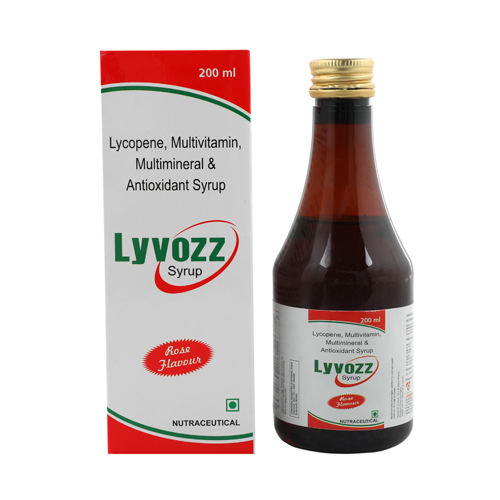Lycopene Multivitamin Multimineral Antioxidant Syrup