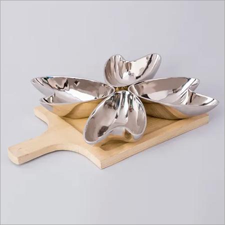 Nickle Plated Aluminium Bowl Set