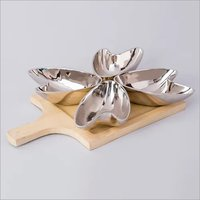 Nickle Plated Aluminium Bowl Set