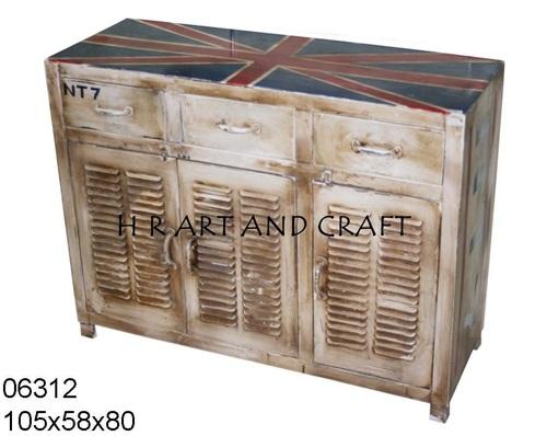 Vector wooden sideboard