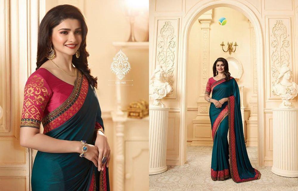 Bollywood Designer Georgette Silk Sarees