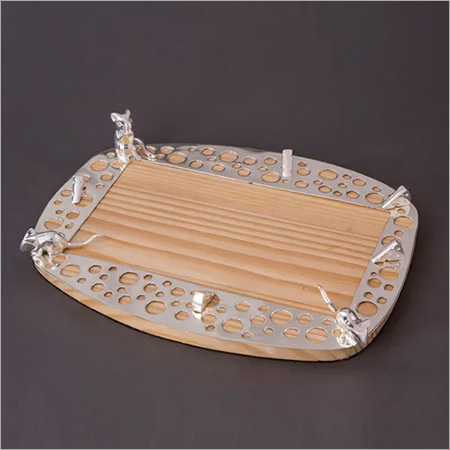 Silver Plated Mouse Cheese Platter