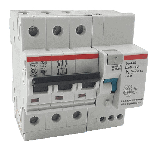 Pole Rccb Elcb 30ma 100am Circuit Breaker