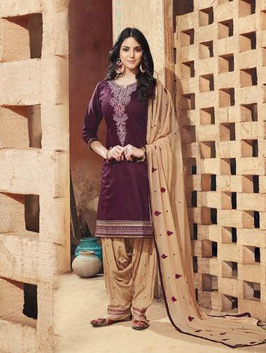 As Per Image Designer Patila Suit