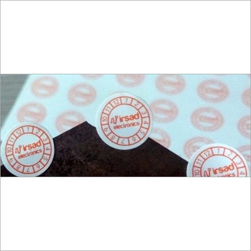 Mobile Phone Date Warranty Sticker