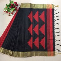 Raw Silk fancy saree