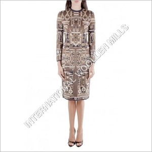 Knitted Dress Material