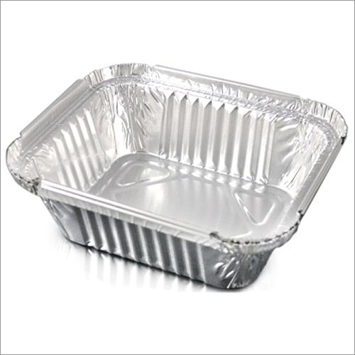 Rectangular foil Container