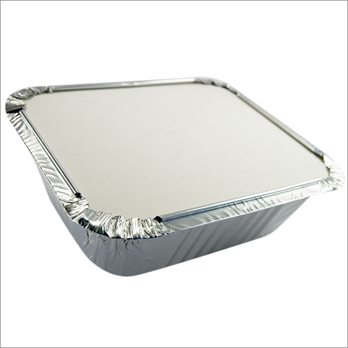 Silver Kitchen Container