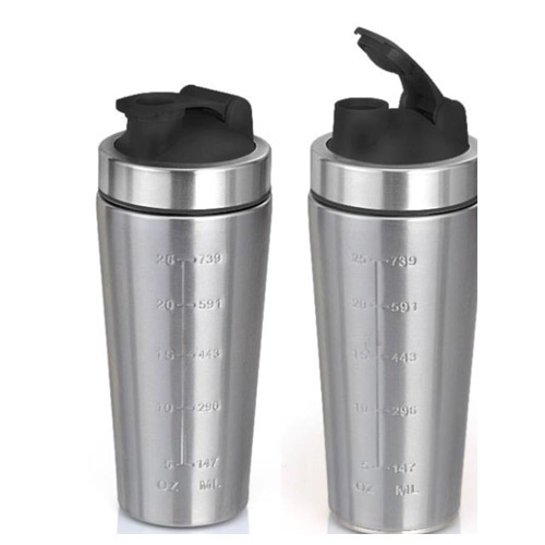 Steel Shake Bottle