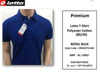 Premium Lotto PC Royal Blue T Shirt CR910274-041