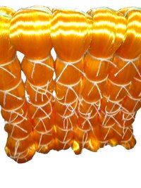 Orange Monofilament Yarn