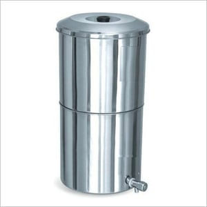 Non Electric Stainless Steel Water Filter