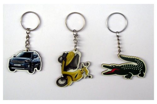 MDF Design Key Chain