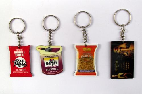 Promotional MDF Keychains