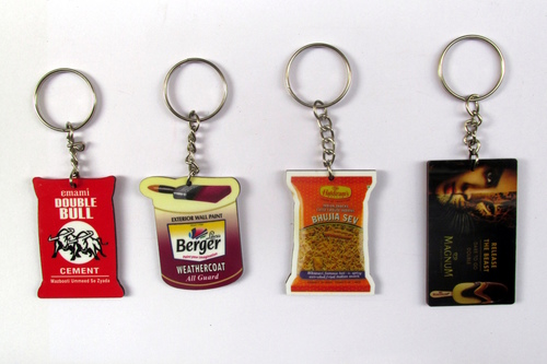 Promotional MDF Keychains