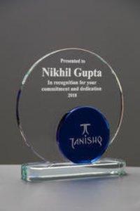 Blue Crystal Award