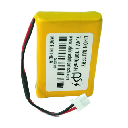 7.4V - 1000 MAH POS Battery