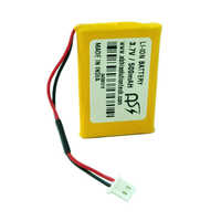 3.7V 500MAH GPS Battery