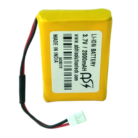 3.7V 2000 MAH GPS Battery