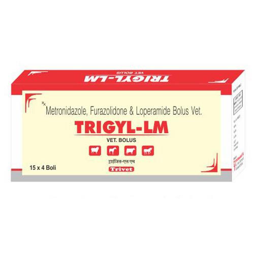 Trigyl Metronidazole Furazolidone  Loperamide Bolus