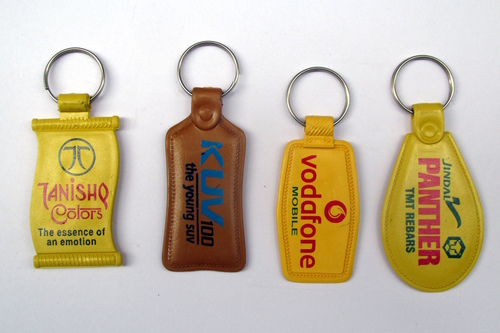 ABS Printing Plastic Keychain