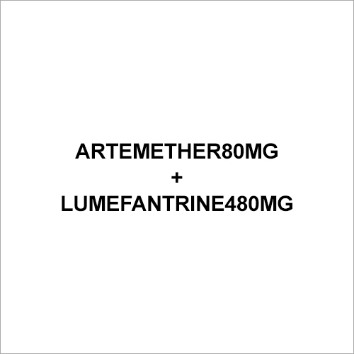 80mg Artemether Lumefantrine