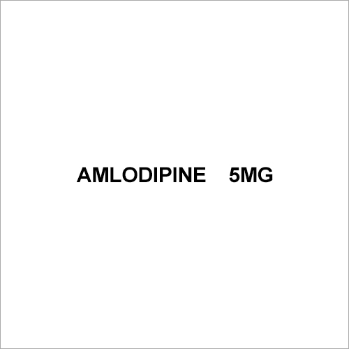 5mg Amlodipine Tablets