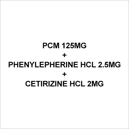 2mg Cetirizine Hcl