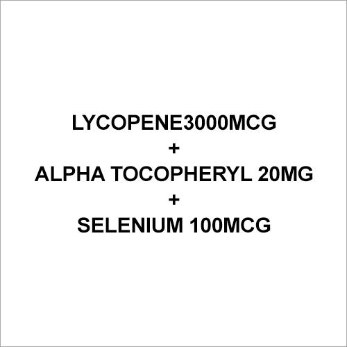 Lycopene3000mcg+Alpha Tocopheryl 20mg.+Selenium 100mcg Capsule