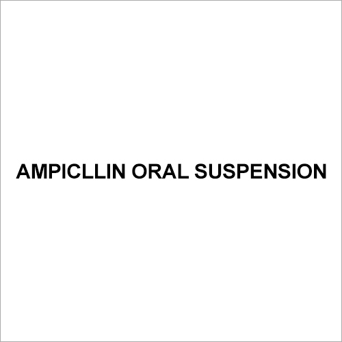 Ampicillin Oral suspension