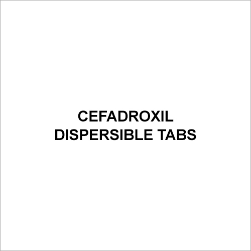 Cefadroxil Dispersible Tablets