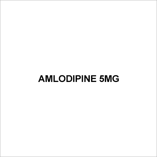 Amlodipine 5mg Tablets