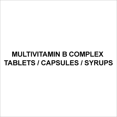 Multivitamin B complex Tablets
