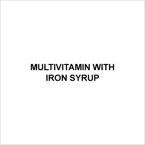 Multivitamin with Iron Syrup