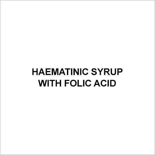 Haematinic Syrup with Folic Acid
