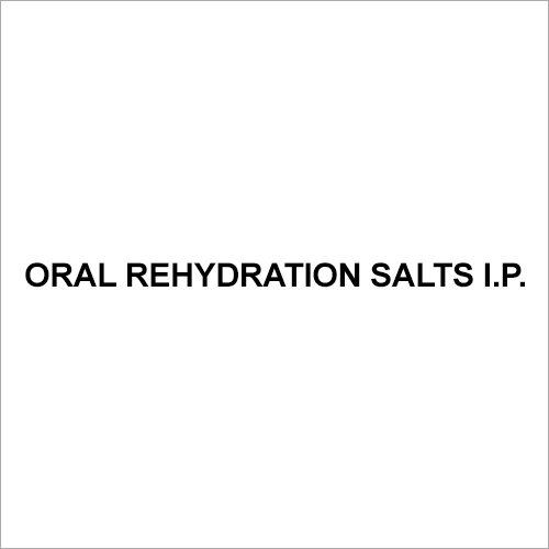 Oral Rehydration Salts I.P.