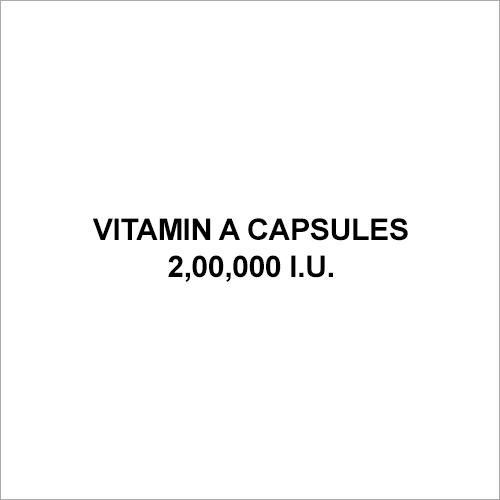 Vitamin A Capsules 2,00,000 I.U.