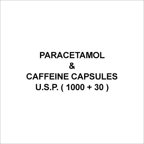 Paracetamol & Caffeine Capsules U.S.P. ( 1000 + 30 )