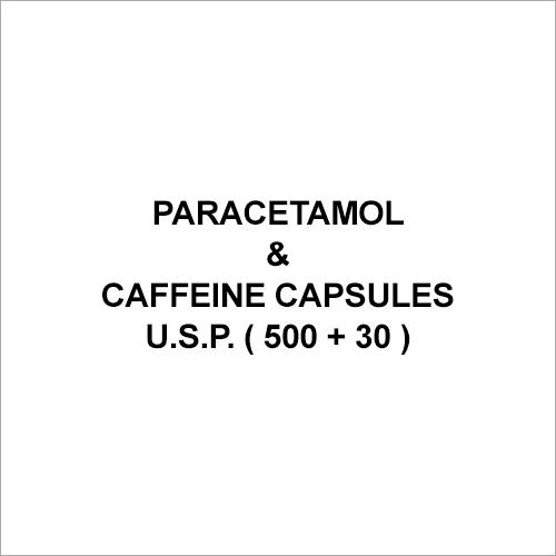 Paracetamol & Caffeine Capsules U.S.P. ( 500 + 30 )
