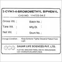 2 Cyno 4 Bromomethyl Biphenyl