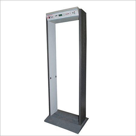 MICROCONTROLLER BASED DOOR FRAME METAL DETECTOR