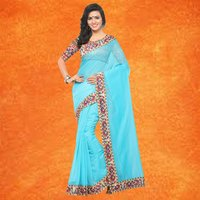 Festive Wear Chanderi Saree