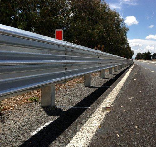 Metal Beam Crash Barriers