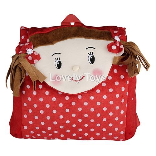 School Soft Plush Backpack