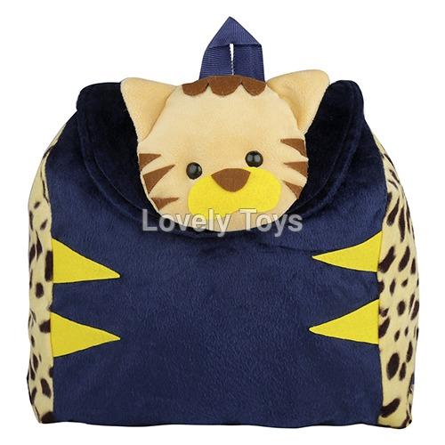 Kids Animal School Plush Backpack